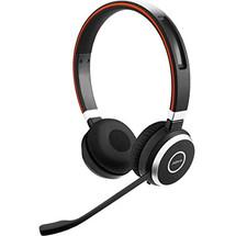 Jabra Evolve 65 Wireless Bluetooth Headset - Side View