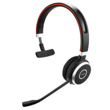 Jabra Evolve 65 Wireless Bluetooth Headset Mono - Side View