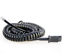 Eartec Office RJ9 QD Connecting Lead - EAR-QD002 (P)