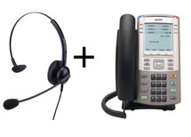Package Offer on Nortel IP Phone 1140E + Eartec 308 Headset