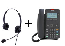 Package Offer on Nortel IP Phone 1220 Phone + Eartec 308D Headset