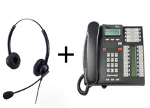 Package Offer on Norstar T7316E Telephone + Eartec 308D Headset