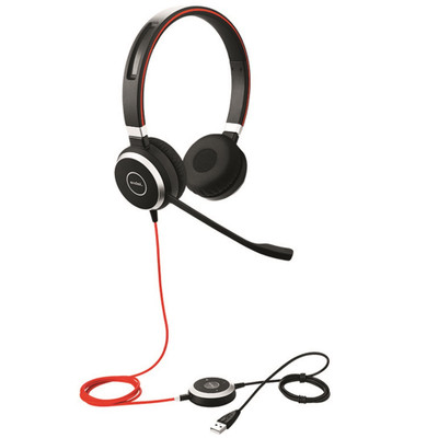 Jabra Evolve 40 Headset Duo - Side View
