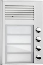 Interquartz 4 Button Doorphone ID204
