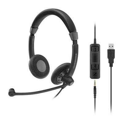 Sennheiser SC75 USB Ctrl Binaural Headset
