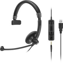 Sennheiser SC45 USB Ctrl Monaural Headset