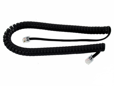Replacement Curly Cord in Black