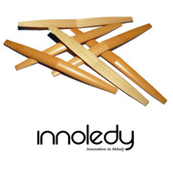 Innoledy Premium Shaped English Horn Cane - 6 Pieces