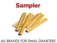 Premium Gouged Oboe Cane Sampler, 10.0-10.25 mm Dia.