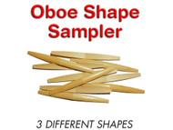 Premium Shaped Oboe Cane Sampler