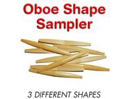 Premium Shaped Oboe Cane Sampler