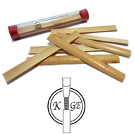 K.Ge Pre-Gouged Oboe Cane - 10 Pieces