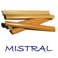 Mistral Pre-Gouged English Horn Cane - 6 Pieces