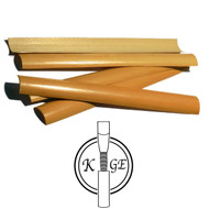 K.Ge Pre-Gouged English Horn Cane - 6 Pieces