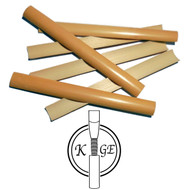 K.Ge Premium Gouged English Horn Cane - 6 pieces