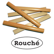 Rouché Premium Gouged English Horn Cane - 6 pieces