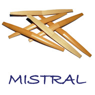 Mistral Premium Shaped English Horn Cane - 6 Pieces