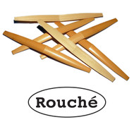 Rouché Premium Shaped English Horn Cane - 6 Pieces