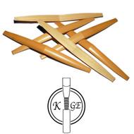 K.Ge Premium Shaped English Horn Cane - 6 Pieces