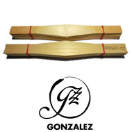 Gonzalez Shaped and Profiled Bassoon Cane - 10 pieces