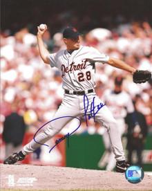 Danny Patterson Autographed Detroit Tigers 8x10 Photo