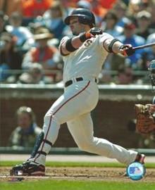 Aaron Rowand San Francisco Giants Unsigned 8x10 Photo