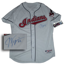 Jason Kipnis Autographed Cleveland Indians Authentic Home Jersey