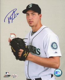 Phillippe Aumont Autographed Seattle Mariners 8x10 Photo