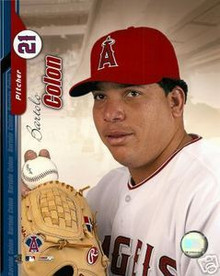 Bartolo Colon Anaheim Angels 2004 Studio 8x10 Photo
