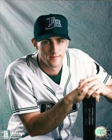 Ben Grieve Tampa Bay Rays Studio Unsigned 8x10 Photo