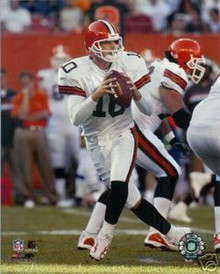 Kelly Holcomb Cleveland Browns Action 8x10 Photo