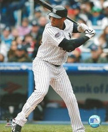 Robinson Cano New York Yankees Unsigned Home 8x10 Photo