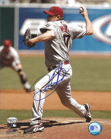 Brandon Webb Autographed Arizona Diamondbacks 8x10 Photo