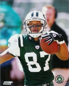 Laveranues Coles New York Jets Unsigned Home 8x10 Photo