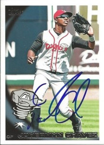 Johermyn Chavez Autographed 2010 Pro Debut Card Seattle Mariners