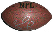 Braylon Edwards Signed NFL Football San Francisco 49ers