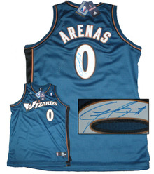 Gilbert Arenas Signed Washington Wizards Jersey
