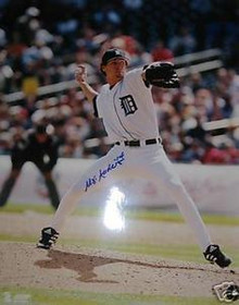 Matt Anderson Autographed Detroit Tigers 16x20 Photo