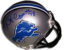 Nick Fairley Autographed Detroit Lions Mini Helmet