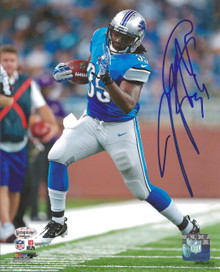 Joique Bell Autographed Detroit Lions 8x10 Photo