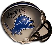 Matthew Stafford Autographed Detroit Lions Mini Helmet