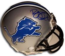 Reggie Bush Autographed Detroit Lions Mini Helmet