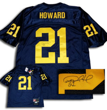 Desmond Howard Autographed Michigan Wolverines Nike Jersey