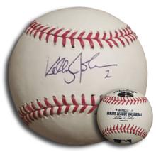 Kelly Johnson Autographed Official Major League Baseball Orioles