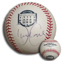David Cone Autographed 2008 Yankee Stadium Final Season Baseball
