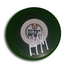 Paul Coffey Autographed Edmonton Oilers Hockey Puck