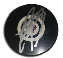 Evander Kane Autographed Winnipeg Jets Hockey Puck