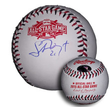 Stephen Vogt Autographed 2015 All Star Game Baseball Oakland A's