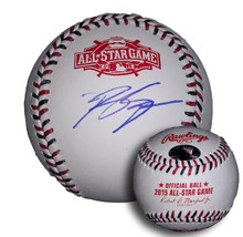 Ryan Braun Autographed 2015 All Star Game Baseball Brewers
