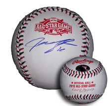 Justin Upton Autographed 2015 All Star Game Baseball Padres